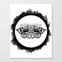 Half Creature Canvas Print