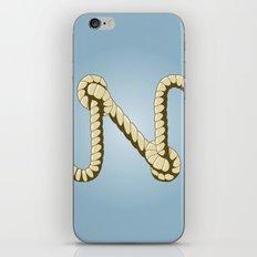 Alphabet N iPhone & iPod Skin