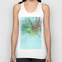 flight Tank Tops featuring Flight by karleegerrand