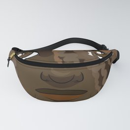 Portrait of a Young African American woman Fanny Pack