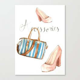 Accessories Canvas Print