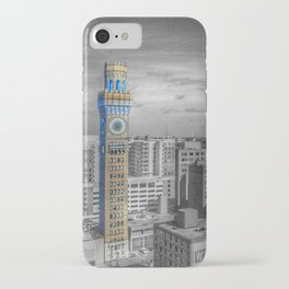 Baltimore Landscape - Bromo Seltzer Arts Tower iPhone Case