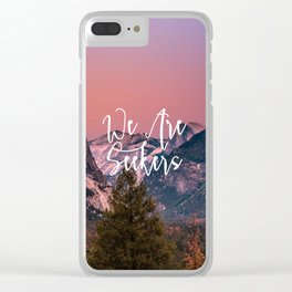 We Are Seekers Clear iPhone Case