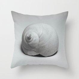 Atlantic Moon Snail Shell 2 Throw Pillow