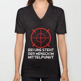 Funny sayings Bundeswehr Sniper Gift Unisex V-Neck