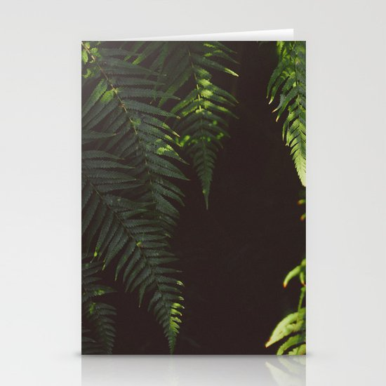 Ferns of Emerald Stationery Cards