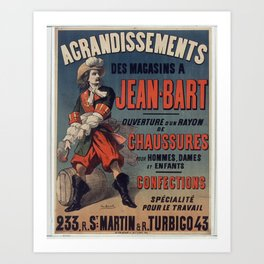 Old Sign / Jean Bart Kunstdrucke