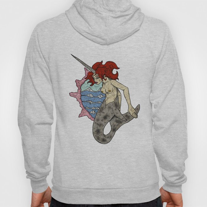Marine the mermaid Hoody