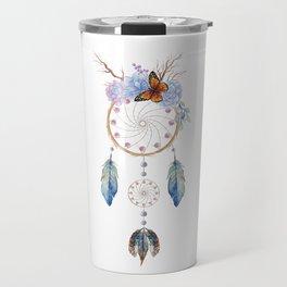 Boho dreamcatcher Travel Mug