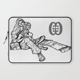 Lovers in Repose_illustration Laptop Sleeve