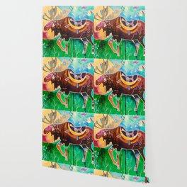 Fantastic Moose - Animal - by LiliFlore Wallpaper