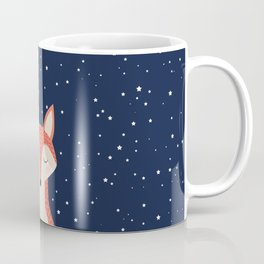 Sleepy Fox Coffee Mug
