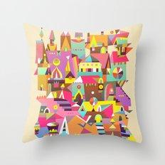 Structura 1 Throw Pillow