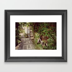 Away from the Crowd Framed Art Print