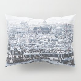 Rooftops - Architecture, Photography Pillow Sham