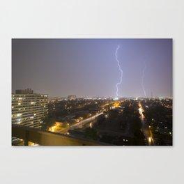 City Lightning. Canvas Print