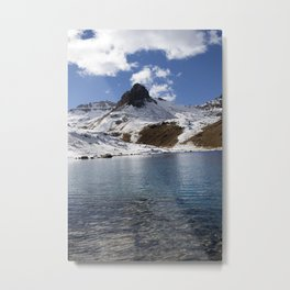 Autumn Ice - Ice Lakes Silverton,  CO Metal Print