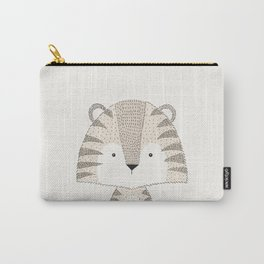 Tiger, Baby Safari Animals Nursery Carry-All Pouch
