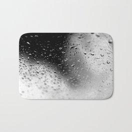 Splash Water - Black and White Bath Mat