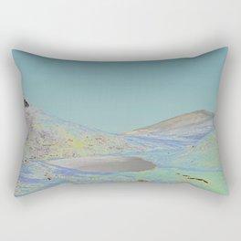 Chromascape 13 (Snowdon, Wales) Rectangular Pillow