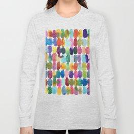Rainbow Swatches Long Sleeve T-shirt