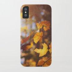 sun soaked autumn iPhone X Slim Case