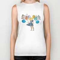 solar system Biker Tanks featuring Solar System by Owlsoul