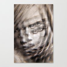 Compound Eyes See her Beauty Multiply Canvas Print