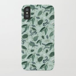 Endangered turtles iPhone Case