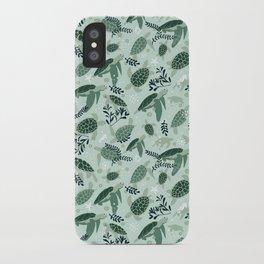 Endangered turtles iPhone Case