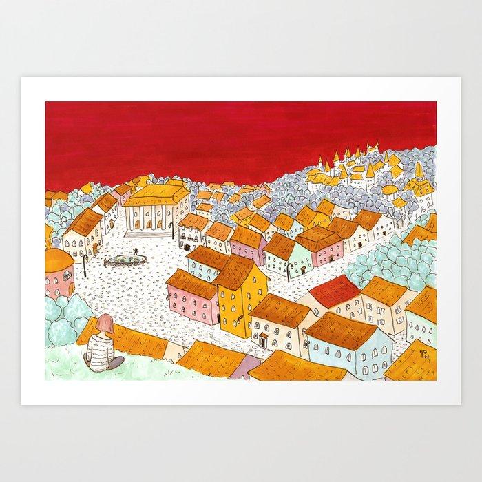 City #4 Art Print