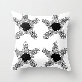Dark Stars Throw Pillow