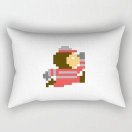 8bit Brutus Rectangular Pillow