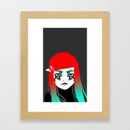 Hey girl ! Framed Art Print