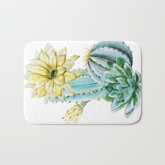 Cactus 02 Bath Mat