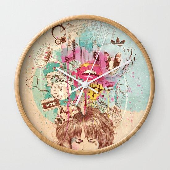 Thinking Wall Clock