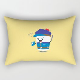 Coffee Cop Rectangular Pillow