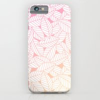 Leaves in Sunset Slim Case iPhone 6s
