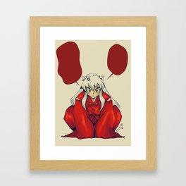 Inuyasha Framed Art Print