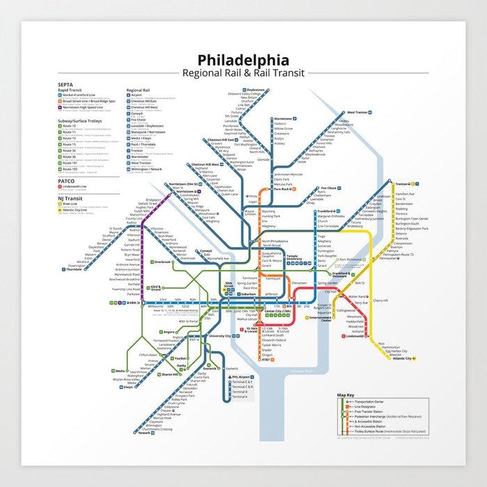 Philadelphia Subway Map Patco.Philadelphia Transit Tour Skyscraperpage Forum