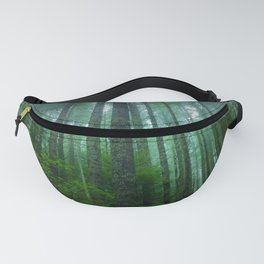 Misty Mountain Forest Fanny Pack