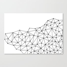 Polygon Canvas Print
