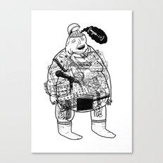 Music Fan #1 Canvas Print