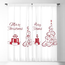 Abstract Christmas Tree - 61 Blackout Curtain