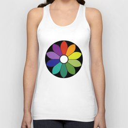James Ward's Chromatic Circle (interpretation) Unisex Tank Top