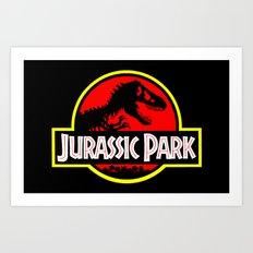 JurassicPark Art Print