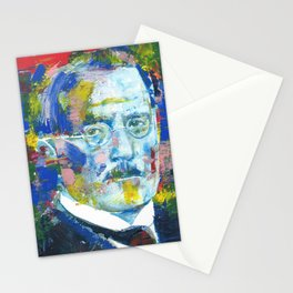 CARL JUNG - portrait.8 Stationery Cards