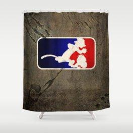 Calvinball Shower Curtain