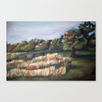 battlefield Canvas Prints featuring Gettysburg Battlefield by Megan Lucas