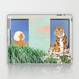 Love Thy Neighbor #illustration #wildlife Laptop & iPad Skin